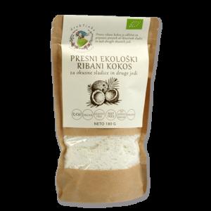 Ribani kokos Drobtinka - presni, ekološki, 180 g