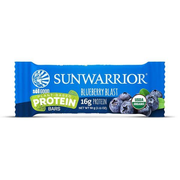 Sol Good Bar tablica z okusom borovnice SunWarrior