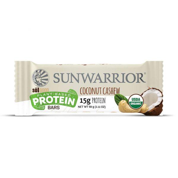 Sol Good Bar tablica z okusom kokosa in indijskih oreščkov SunWarrior