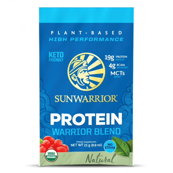 Sunwarrior Warrior Blend rastlinski proteini - Naravni, 25 g