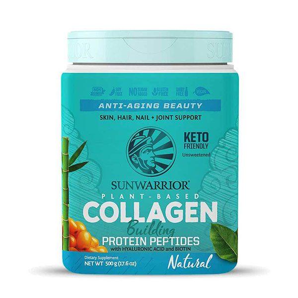 Veganski kolagen SunWarrior, naravni okus, 500 g