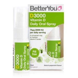 Vitamin D v spreju DLux 3000 BetterYou