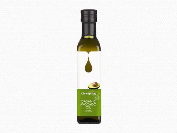 Avokadovo olje ClearSpring, hladno stiskano, ekološko, nerafinirano, 250 ml