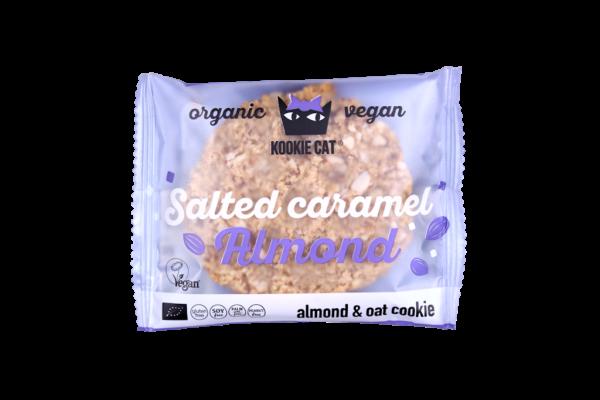 Kookie Cat naravni piškot slana karamela, (BIO, veganski), 50 g