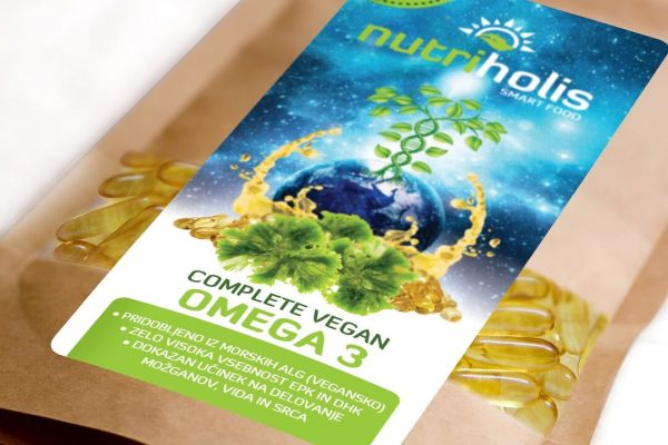 NutriHolis Complete Vegan Omega 3