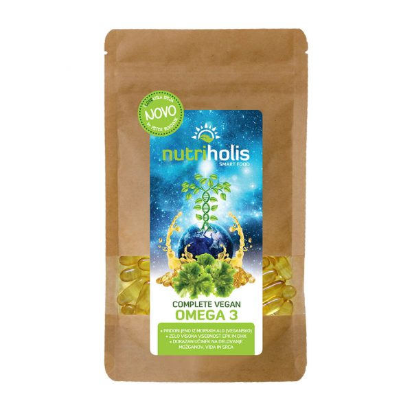 NutriHolis Veganske Omega 3