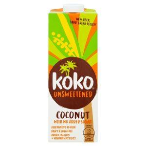 Kokosov napitek Koko Dairy Free Nesladkan, 1l