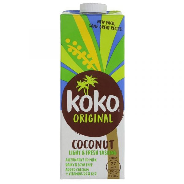 Kokosov napitek Koko Dairy Free Original, 1l