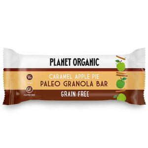 Paleo granola ploščica JABOLČNA PITA S KARAMELO, Planet Organic, eko, 30 g