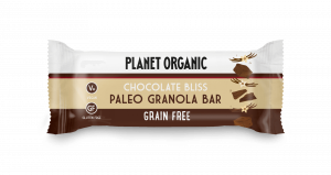 Paleo granola ploščica s ČOKOLADO, Planet Organic, eko, 30 g