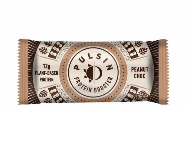 Proteinska tablica z arašidi in čokolado Pulsin, 50 g