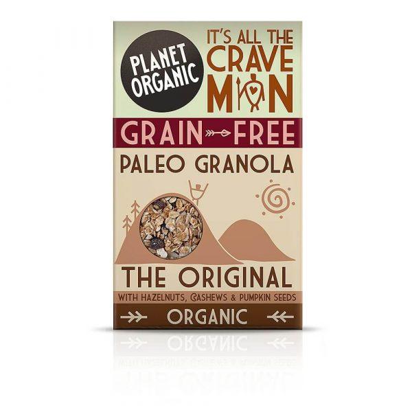 Paleo granola ORIGINAL (izvorna), Planet Organic, eko, 350 g