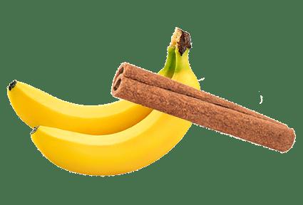 Banana in cimet