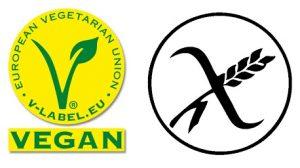 Brez glutena in vegansko
