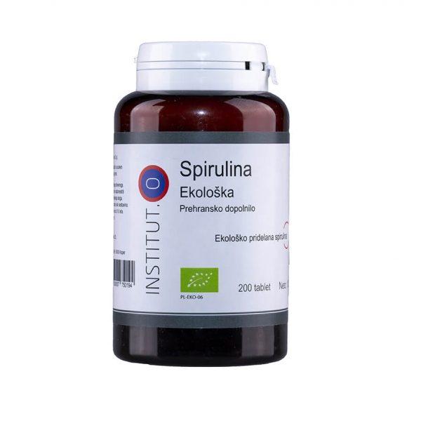 Ekološka spirulina alga v tabletah - 200 tablet