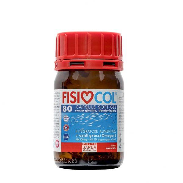 Fisiocol ribje Omega 3 kapsule - 80 kapsul Institut.O