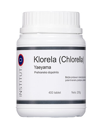 Klorela alga Yaeyama v tabletah - 400 tablet