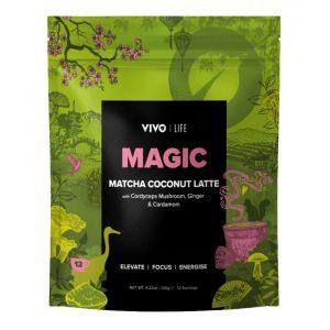 Matcha latte - Veganski latte napitek matcha in kokos Vivo Life Magic, 120 g
