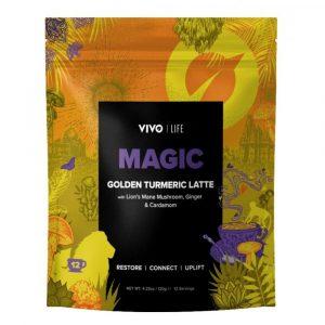Zlato mleko - Veganski latte napitek s kurkumo Vivo Life Magic, 120 g