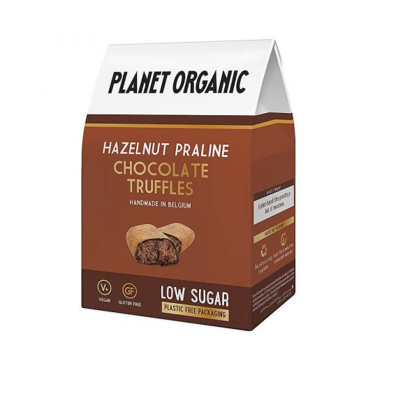 Čokoladni tartufi z lešniki Planet Organic