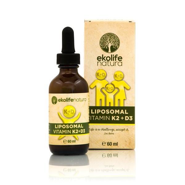 Liposomski vitamini K2+D3 Ekolife Natura