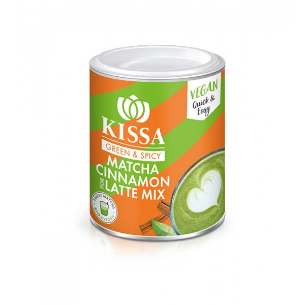 Kissa Matcha Latte Mix s cimetom