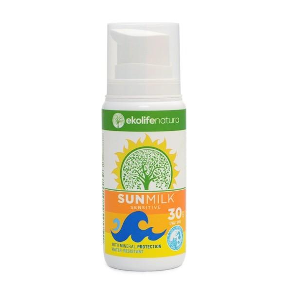 Naravna sončna krema Ekolife Natura SPF 30