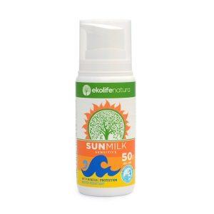 Naravna sončna krema Ekolife Natura SPF 50
