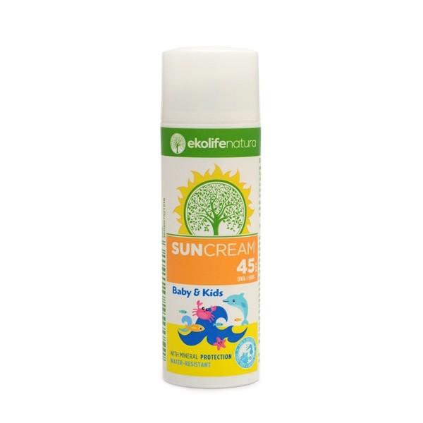 Sončna krema za otroke Ekolife Natura