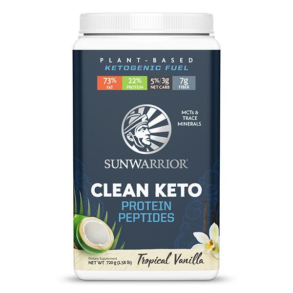 Sunwarrior Clean Keto veganski keto proteini - vanilija