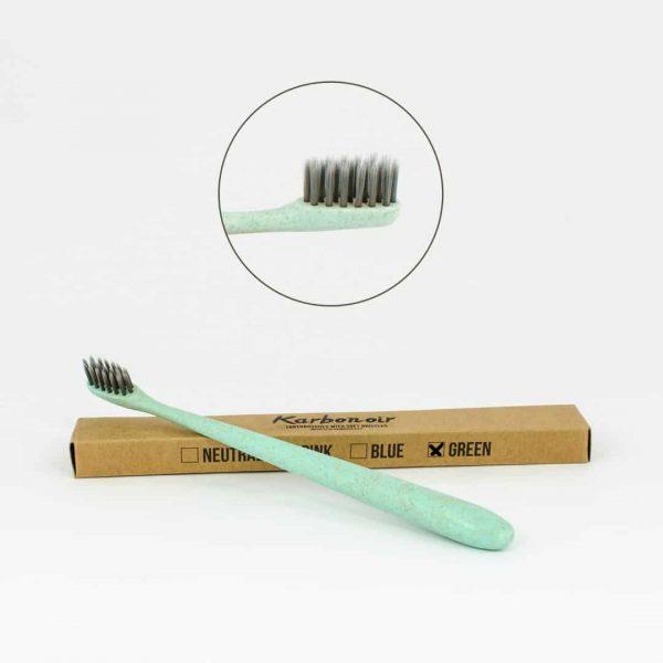 Karbonoir zobna ščetka - zelena