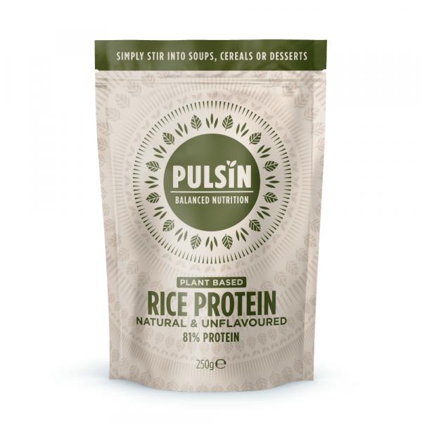 Riževi proteini pulsin