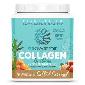 Veganski kolagen SunWarrior okus slana karamela