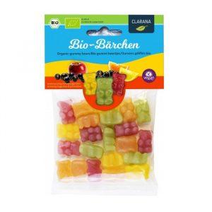 Clarana veganski žele gumi bonboni iz ekoloških sestavin