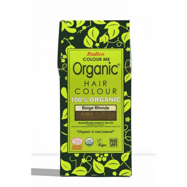 Naravna barva za lase Radico BEŽ BLOND - embalaža