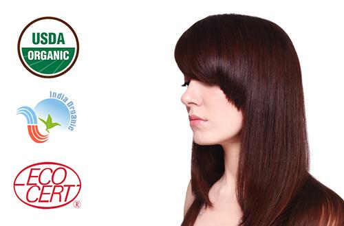 Naravna barva za lase Radico BURGUNDSKO RDEČA - model