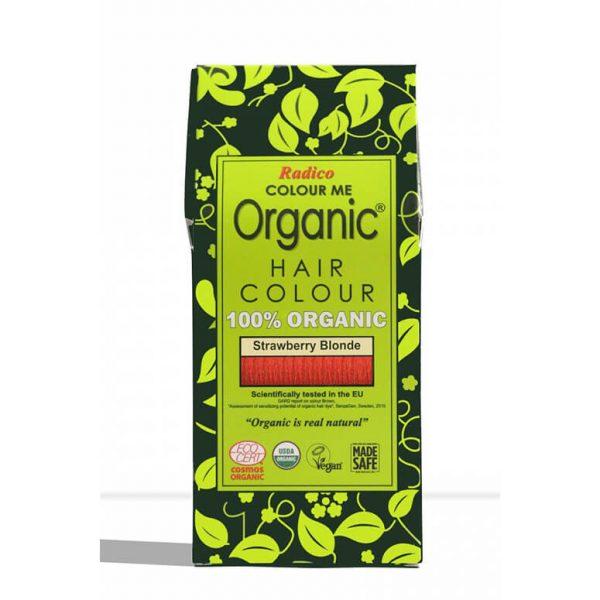 Naravna barva za lase Radico JAGODNO BLOND - embalaža