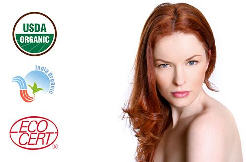 Naravna barva za lase Radico KOSTANJEVO RDEČA - model
