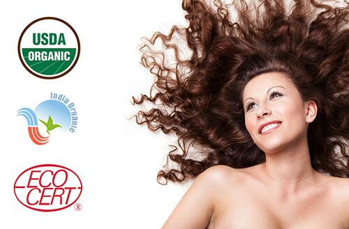 Naravna barva za lase Radico MAHAGONI - model