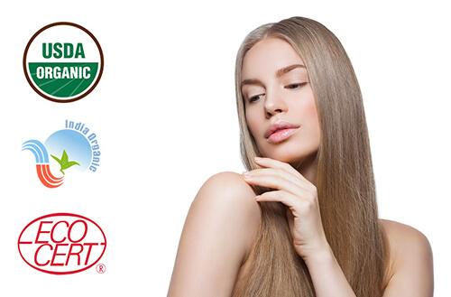 Naravna barva za lase Radico PEPELNATO BLOND - model