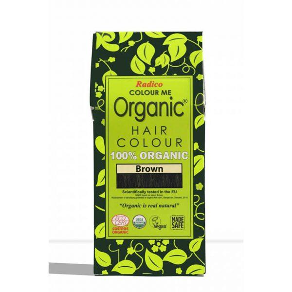 Naravna barva za lase Radico RJAVA - embalaža