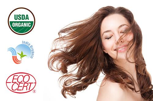 Naravna barva za lase Radico RJAVA - model