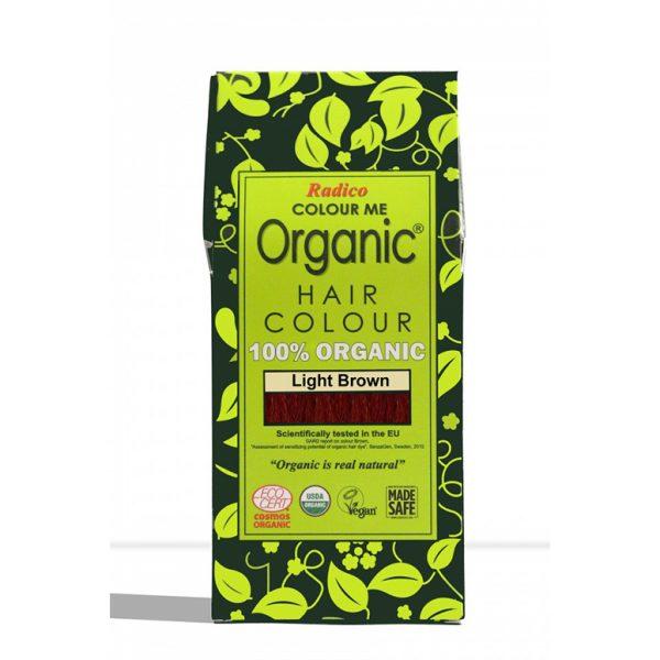 Naravna barva za lase Radico SVETLO RJAVA - embalaža