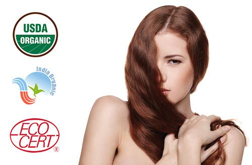 Naravna barva za lase Radico SVETLO RJAVA - model