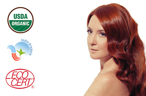 Naravna barva za lase Radico VINSKO RDEČA - MODEL