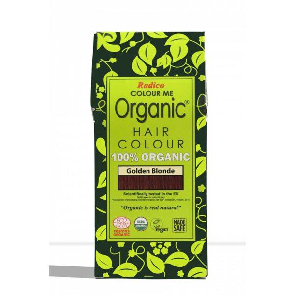 Naravna barva za lase Radico ZLATO BLOND - embalaža