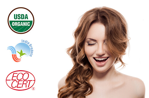 Naravna barva za lase Radico ZLATO BLOND - model