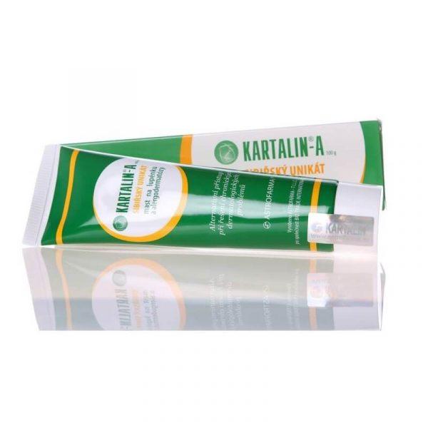 Mazilo za luskavico Kartalin-A, brez kortikosteroidov