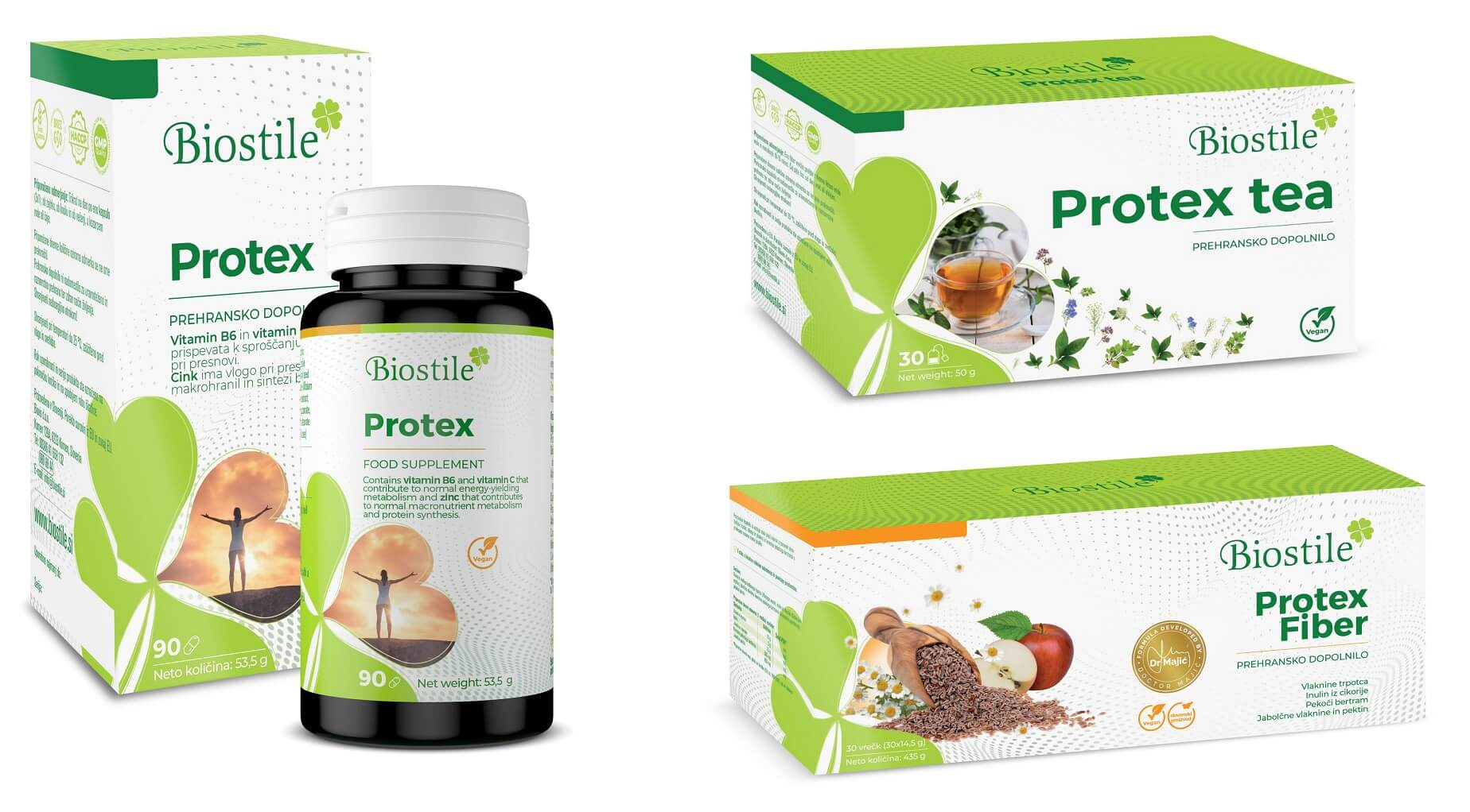 Biostile Protex complet - vsi izdelki