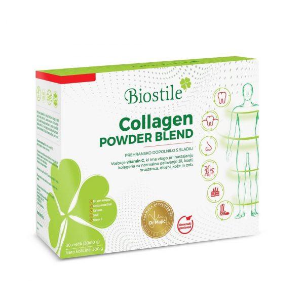 Biostile kolagen - Collagen Powder Blend, 30 vrečk